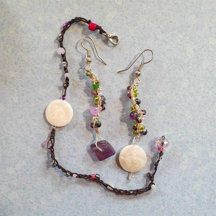 braccialetto orecchini
